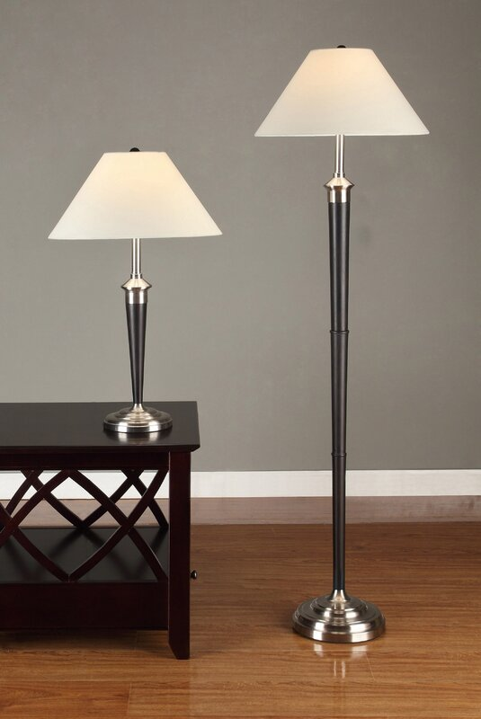 Artiva usa 2 piece table and floor lamp set reviews wayfair 2 piece table and floor lamp set mozeypictures Image collections