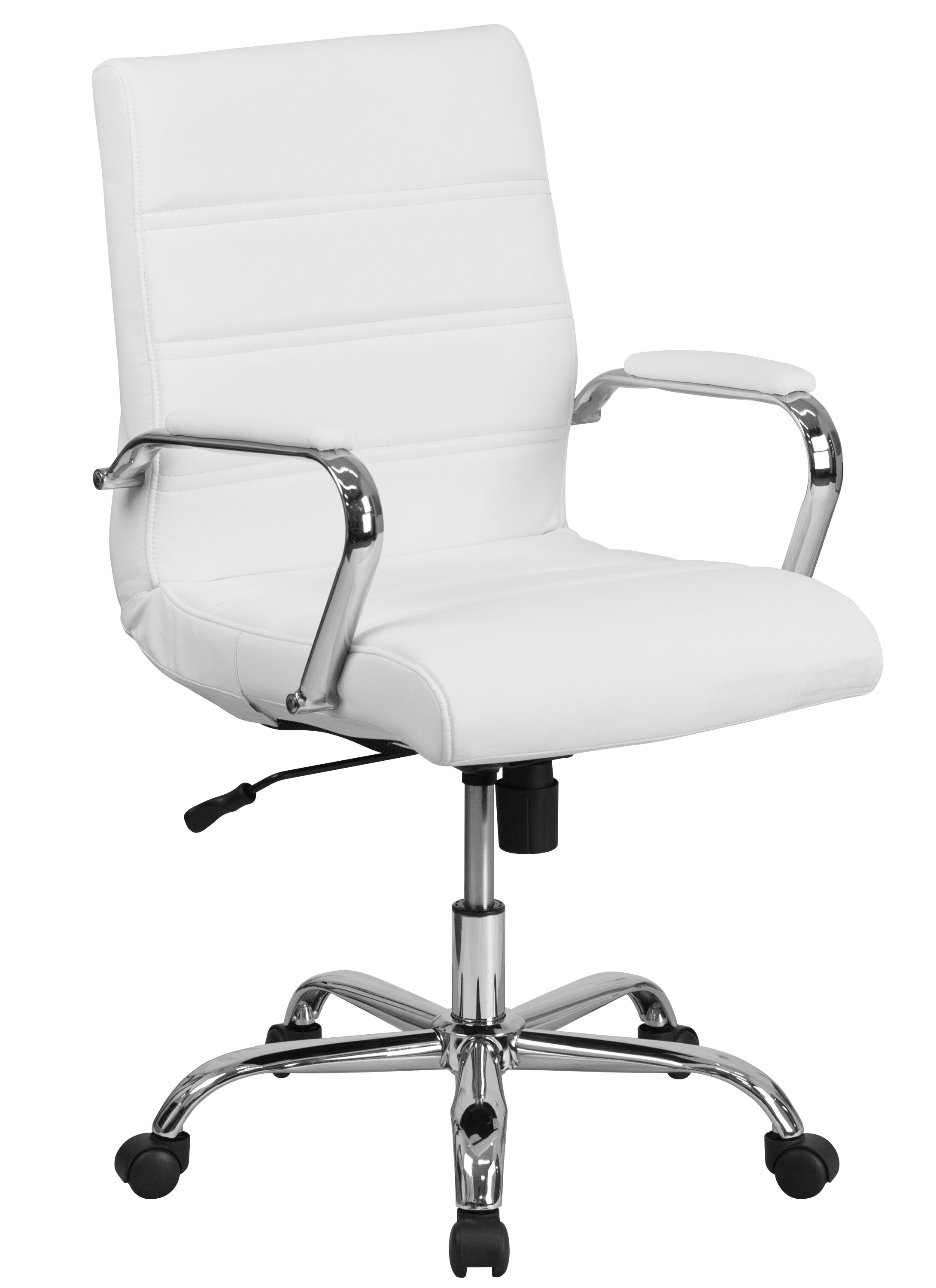 Orren Ellis Petrillo Mid Back Desk Chair U0026 Reviews | Wayfair