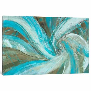'Freedom Flow I' Painting Print on Canvas by East Urban Home
