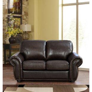 Rosie Leather Loveseat