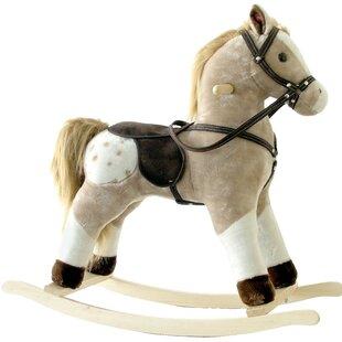 Inexpensive Small Plush Rocking Horse ByAlexander Taron