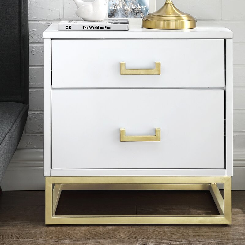 Raees 2 Drawer Nightstand Joss Main