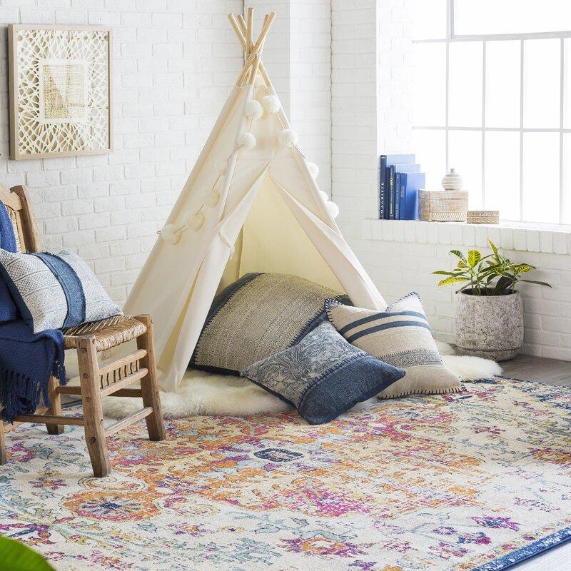 Mistana Hillsby Saffron Area Rug Amp Reviews Wayfair