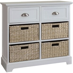 Fleming 2 Drawer 4 Basket Chest by Beachcrest Home