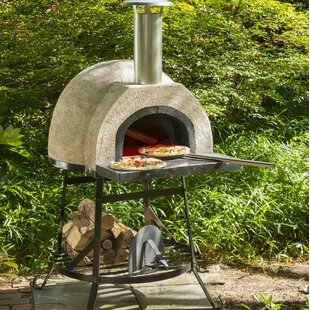 Rustic Wood Fired Oven   Plain Front