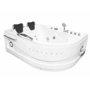 Cayman Hydrotherapy 2 Persons 67 X 47 Freestanding Whirlpool Bathtub