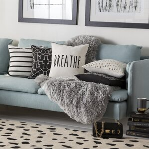 living room pillow. Carnell Breathe Cotton Throw Pillow Cover Covers You ll Love  Wayfair