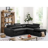Menomonie Right Hand Facing Sleeper Sectional with Ottoman by Latitude Run