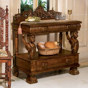 The Lord Raffles Winged Lion Server By Design Toscano