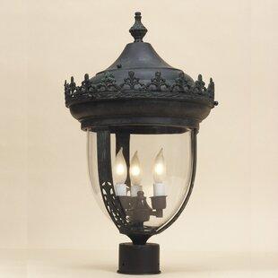 Top Outdoor 3-Light Lantern Head By JVI Designs