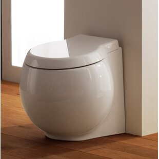 Planet 1.2 GPF Round Toilet Bowl ByScarabeo by Nameeks