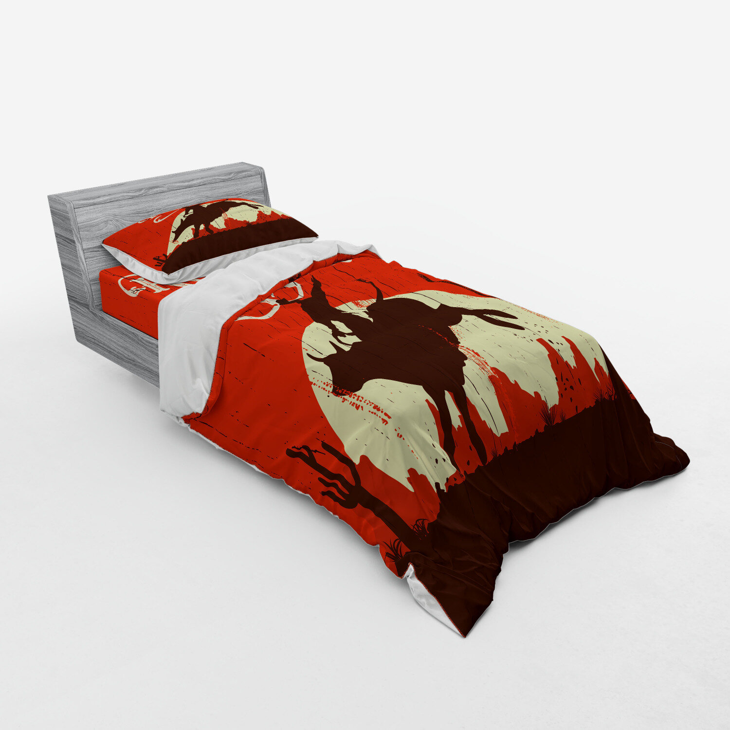 Home Garden Comforters Bedding Sets Sheets Pillowcases Set 7 Pc Chocolate Rodeo Cow Print King Comforter Eo Executiveoptical Com
