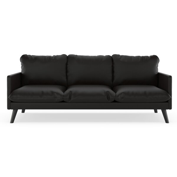 Exceptionnel Vegan Leather Sofa | Wayfair