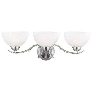 Best Reviews Trevie 3-Light Vanity Light By Design House