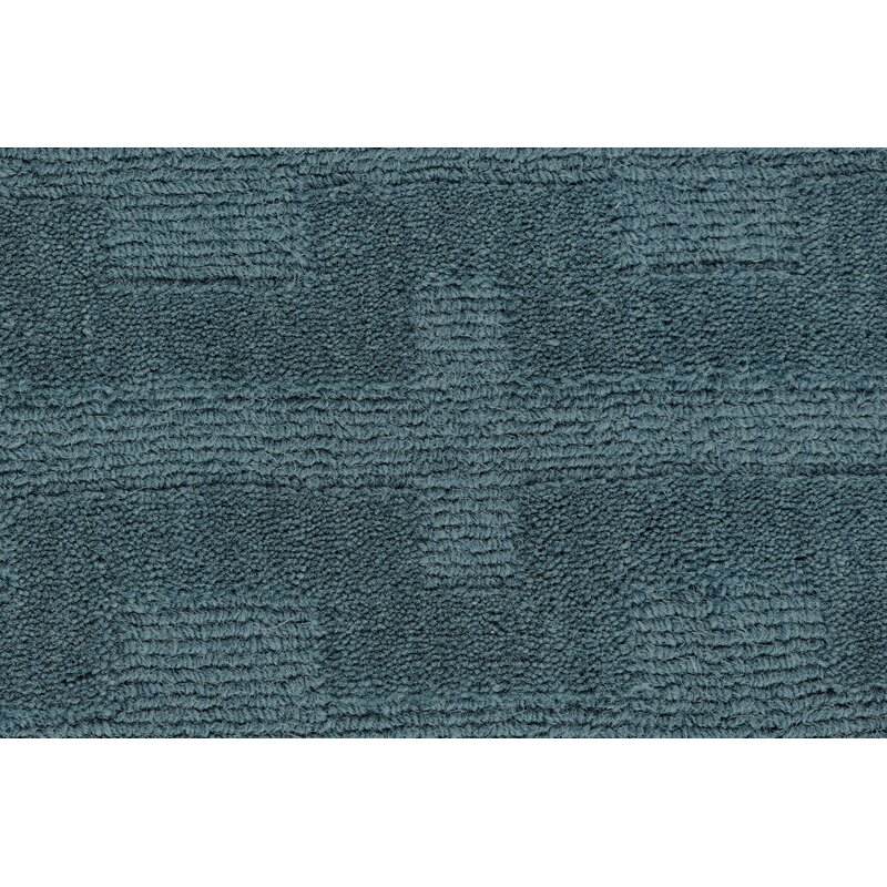 Williston Forge Mcnab Hand Tufted Wool Teal Area Rug Reviews Wayfair