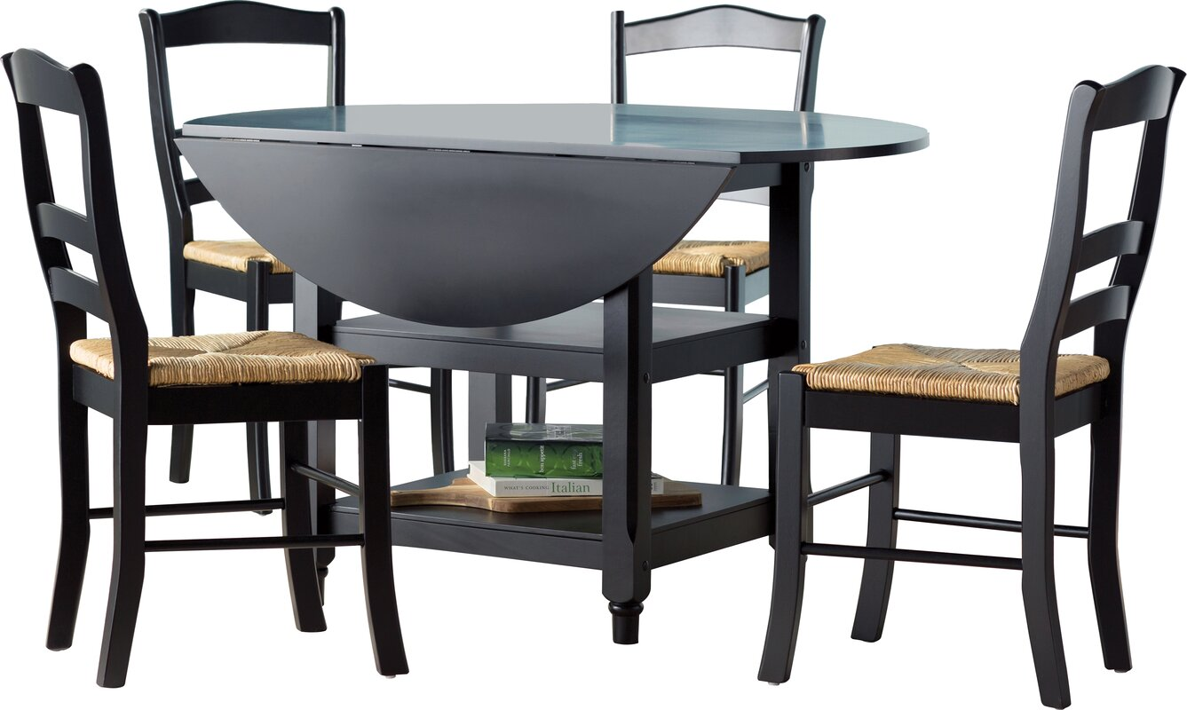 August Grove Paloma 5 Piece Dining Set