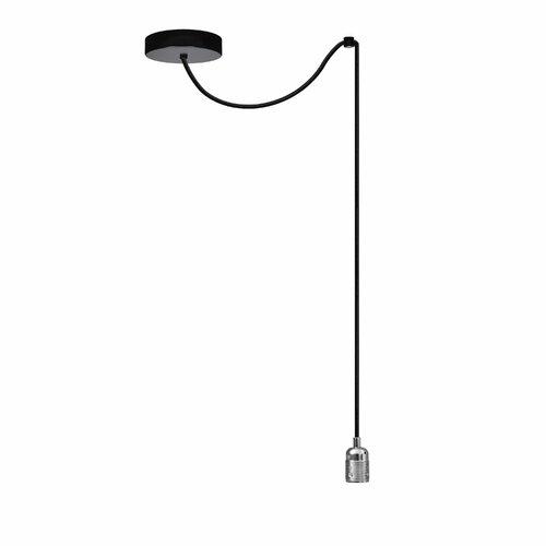 Rona 1-Light Bulb Pendant Williston Forge Finish: Nickel,