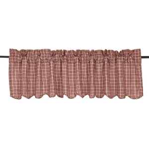 Adell Scalloped Curtain Valance