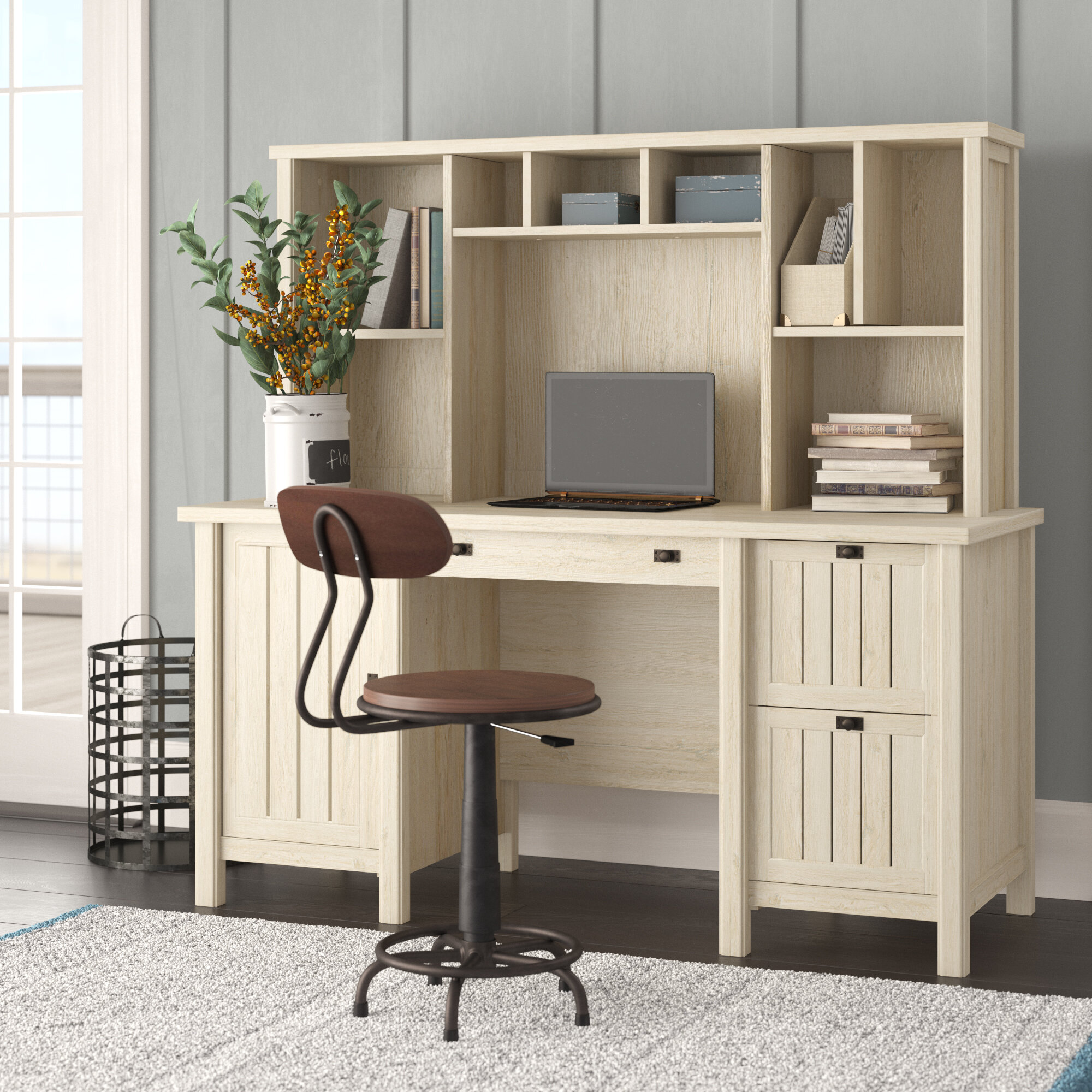 Desk Hutch Walmart Best Home Decorating Ideas