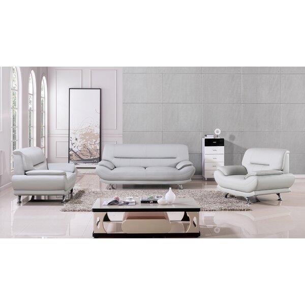AmericanEagleInternationalTrading Mason 3 Piece Living Room Set U0026 Reviews |  Wayfair