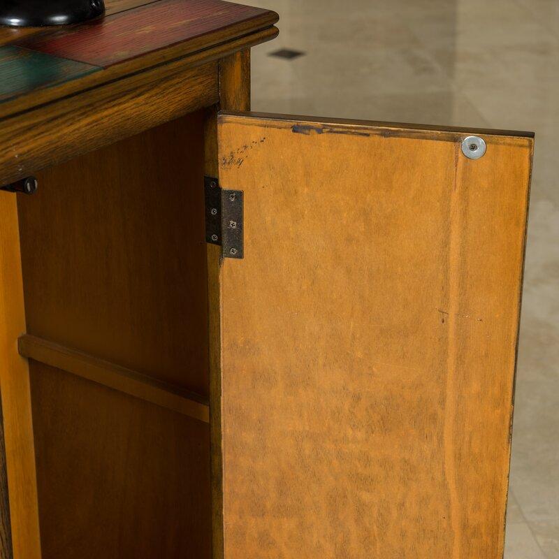 Bungalow rose montgomery 4 drawer 2 door accent cabinet for 1 drawer 2 door cabinet
