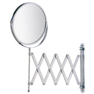 Reviews Cosmetic Telescopic Arm Wall Mirror By Wenko Inc