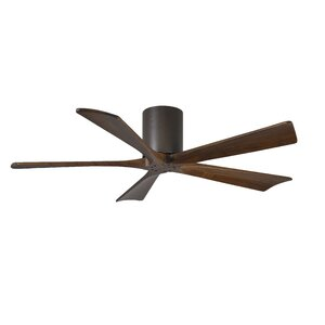 52 Rosalind 5 Blade Hugger Ceiling Fan with Hand Held and Wall Remote