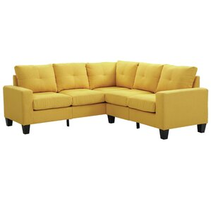 Tiff Sectional  sc 1 st  Wayfair : yellow sectional - Sectionals, Sofas & Couches