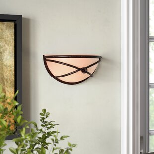 Bargain Gironde 1-Light Large Wall Sconce By Loon Peak