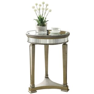 Affordable Mirrored End Table By Monarch Specialties Inc.