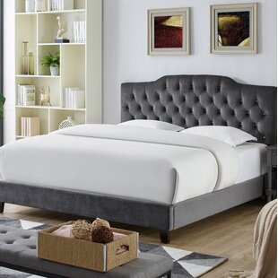 Trista Queen Upholstered Platform Bed by Rosdorf Park