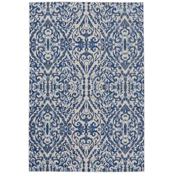 Bungalow Rose Wooters Royal Blue Area Rug Reviews