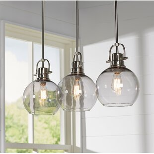 Pendant Kitchen Lighting Pendant lighting youll love wayfair burner 3 light kitchen island pendant workwithnaturefo