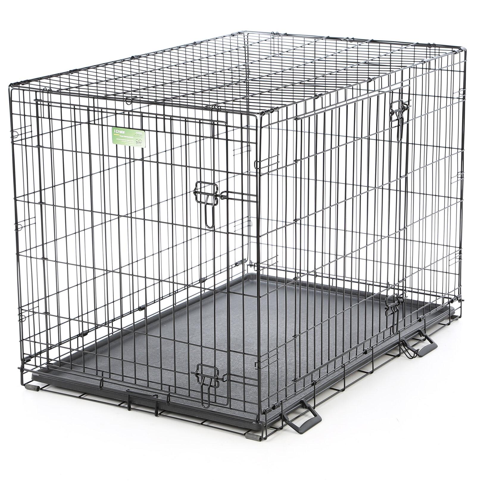 Midwest Homes For Pets Icrate Double Door Pet Crate Reviews Wayfair