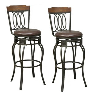 Millwood Pines Whitmer Swivel Bar Counter Stool Wayfair