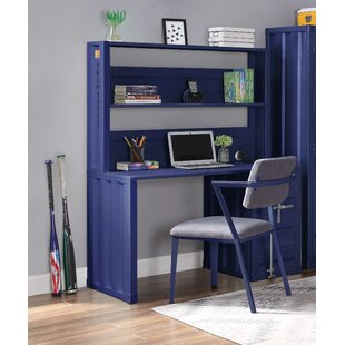 Parke 47 Writing Desk with Hutch and Chair Set by 17 Stories