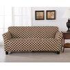 patterned sofa slipcover