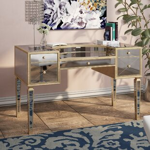 Roehl Mirrored Writing Desk