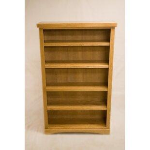 Curl 2 Shelf Traditional Standard Bookcase