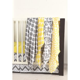 Reviews Chaliah Giraffe 4 Piece Swaddling Muslin Blanket Set By Harriet Bee