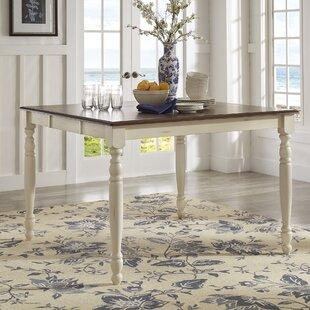 Bargain Whiteland Counter Height Dining Table By Three Posts