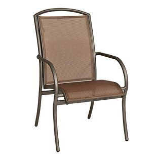 Rivington Stacking Patio Dining Chair by Woodard