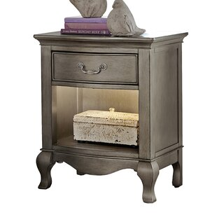 Great Price Troutdale 1 Drawer Nightstand By Greyleigh