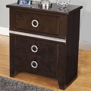 Borden 2 Drawer Nightstand by Everly Quinn
