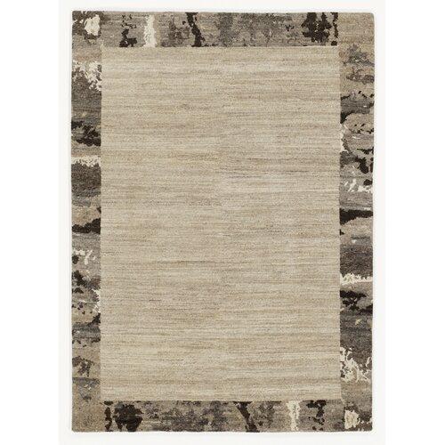 Plumerville Handwoven Wool Beige Rug Ebern Designs Rug size: