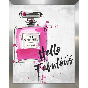 'Hello Fabulous' Graphic Art Print by Picture Perfect International