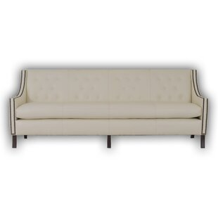 Woburn Leather Chesterfield Sofa