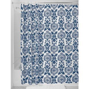 Reviews Damask Shower Curtain By InterDesign