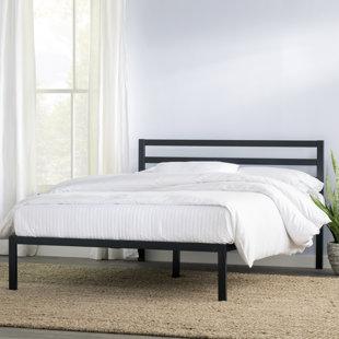 modern queen beds allmodern. Black Bedroom Furniture Sets. Home Design Ideas