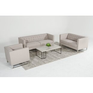 Alsatia 3 Piece Living Room Set
